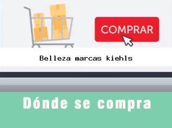 Donde se compra belleza marcas kiehls