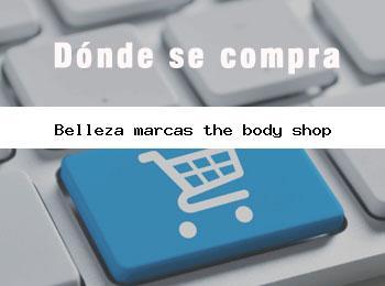 belleza marcas the body shop