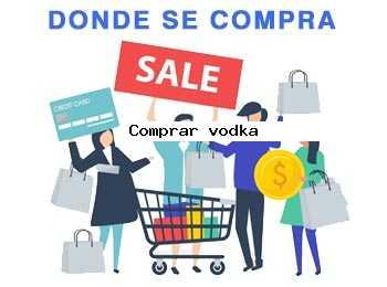 comprar vodka