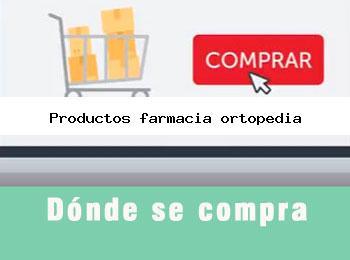 Donde se compra productos farmacia ortopedia