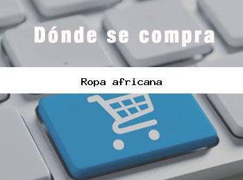 ropa africana