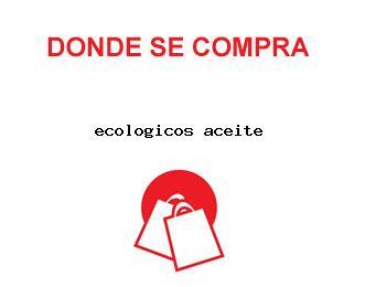 ecologicos aceite