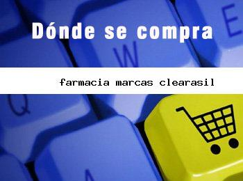 farmacia marcas clearasil