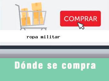 7cac4791769 Descubre una amplio surtido de prendas de ropa militar al mejor precio en  la tienda de equipamiento y material militar Shoke. ¡Visítanos en Madrid!