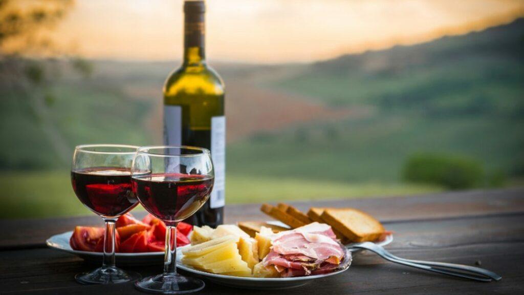 alimentos bebidas vino