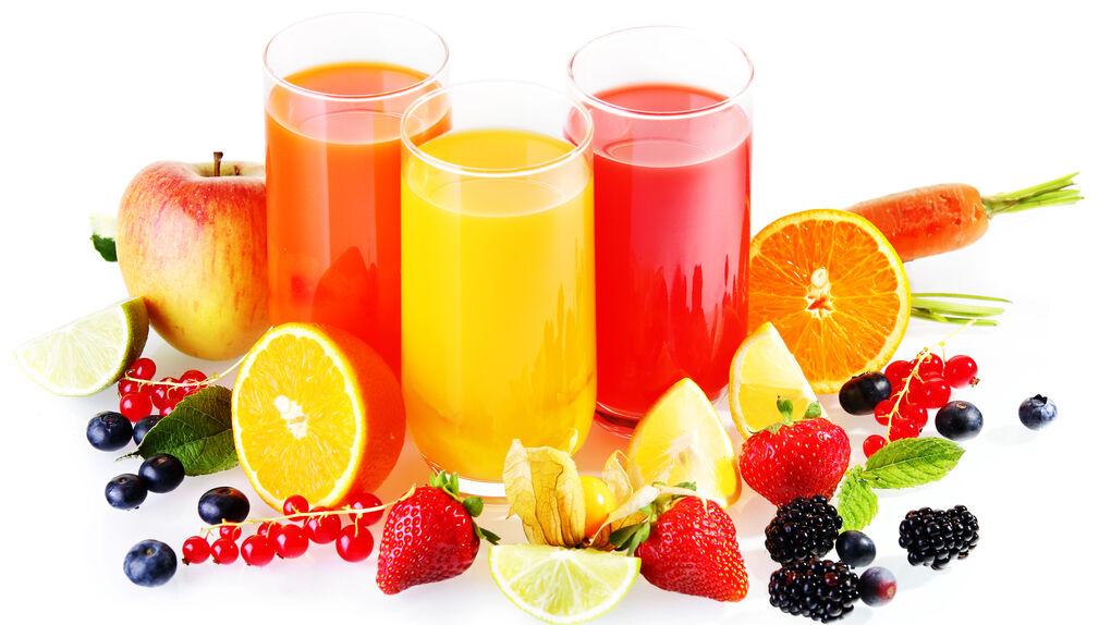 alimentos bebidas zumos