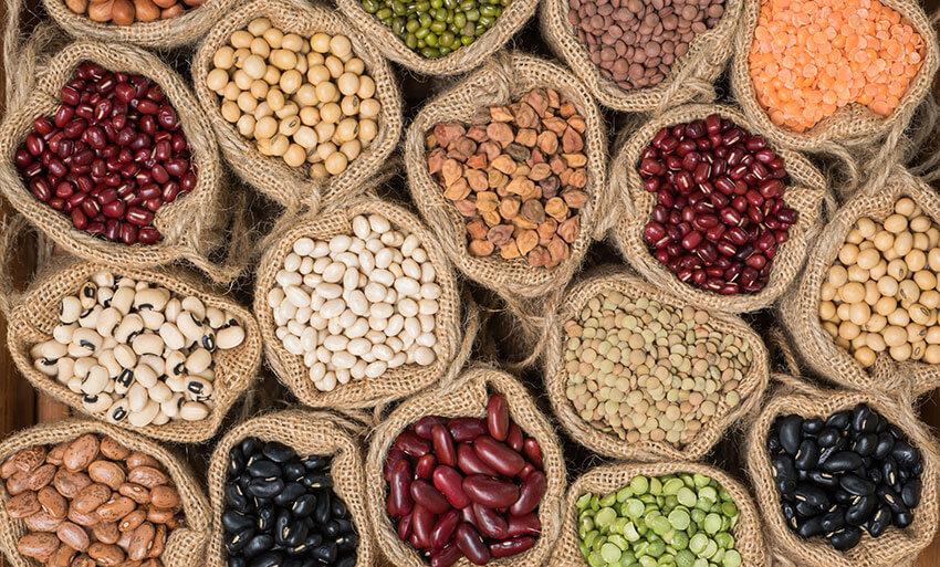 alimentos legumbres