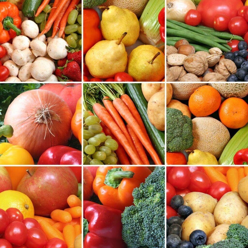alimentos verduras