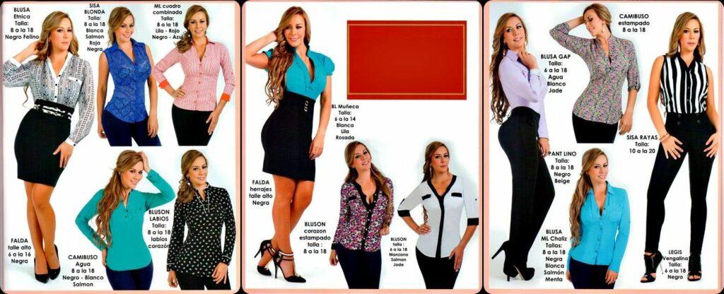 catalogo ropa