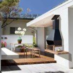 Hogar terraza y jardin barbacoa