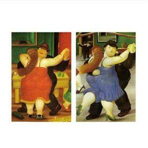 HHLSS Lienzo de Arte 2x60x80cm sin Marco Bailarina b08g8dfjjy