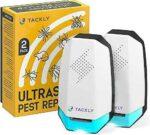 TACKLY Repelente ultrasonico plagas x2 Repelente b099jsjs9m