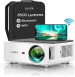 Proyector WiFi Bluetooth 1080P YABER 8500 Lúmenes b08jbrgykk