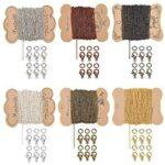 PandaHall Cadenas de collar de cadena de 6 colores b08mtbm7g6