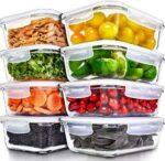 Recipientes para Alimentos [8 Pieza 1000 ml] b081jrz8w6