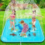 Jojoin Splash Pad Juego de Salpicaduras y b08yrsgr72